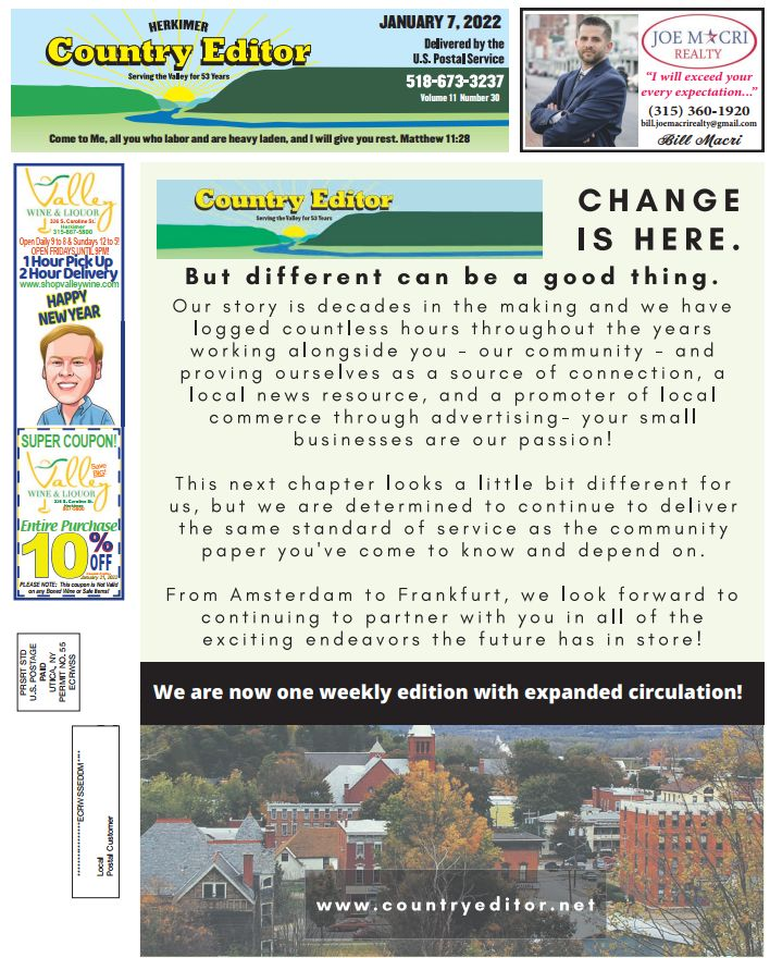 Country Editor Cover