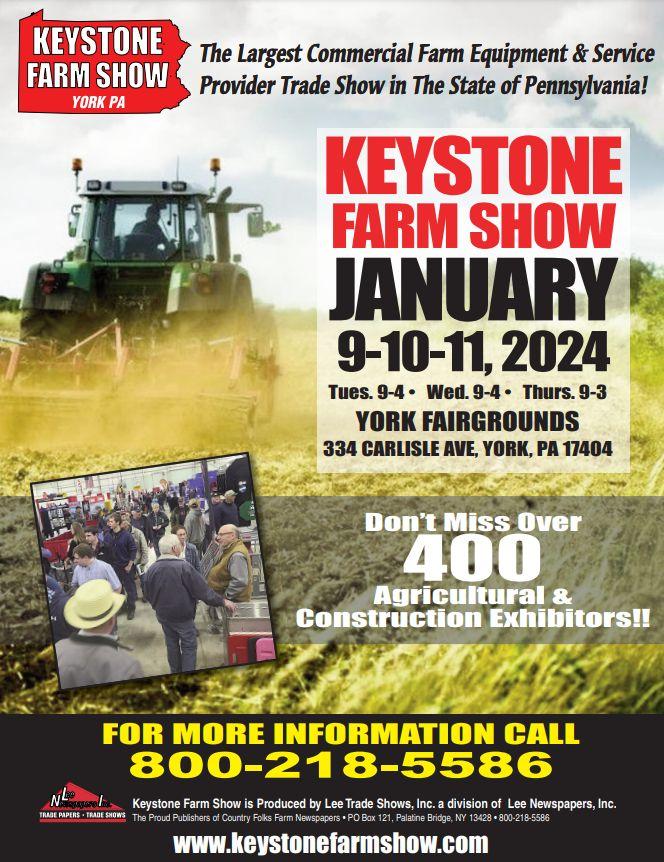 Pa Farm Show 2020.Keystone Farm Show Lee Trade Shows